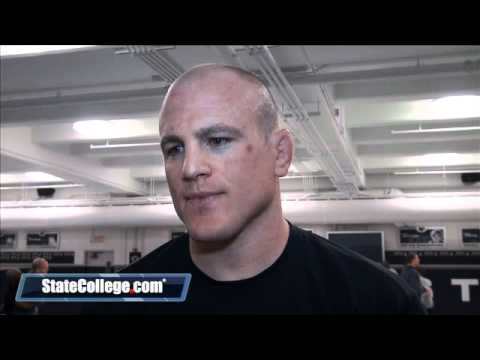 Penn State Wrestling Coach Cael Sanderson Speaks with the Media Image 1