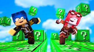 Minecraft ITA - LA CORSA DEI LUCKYBLOCK CREEPER!!