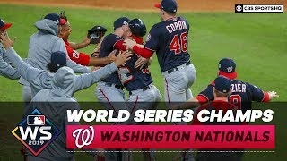 Washington Nationals win their first ever World Series title | Recap & Highlights | CBS Sports HQ