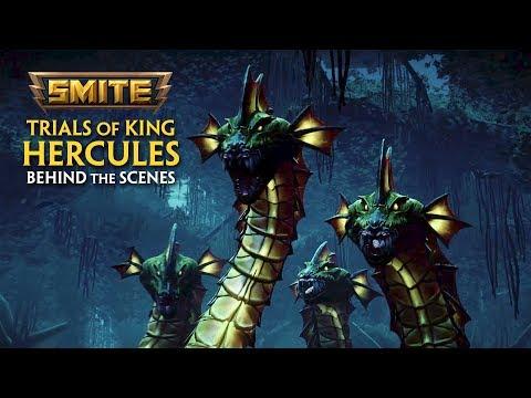 SMITE - Behind the Scenes - Trials of King Hercules