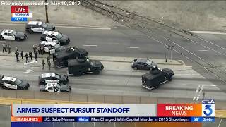 Police Pursuit in Vernon Ends in Shootout