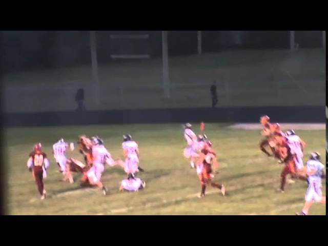 8-29-14 - Michael Gutierrez scores from 21 yards out (Brush 6, Fort Morgan 0)