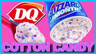 Cotton Candy Blizzard at ♥ Dairy Queen ♥ Review