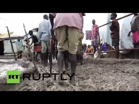 South Sudan: Flood-hit UN camp for the displaced