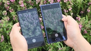 Bezel-less Doogee MIX vs Bluboo S1 Comparison   Camera   Display   Antutu [Chinese]