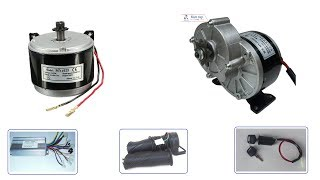 Motor 24V 250w - motor chế xe điện - motor giảm tốc