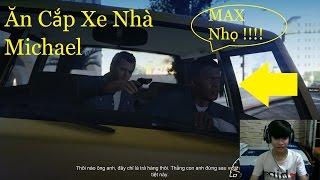GTA 5 Việt Hóa #2 Franklin Thánh Nhọ Đi ăn Cắp Xe Nhà Michael Và Cái Kết Không Thể Nhọ Hơn | 2K
