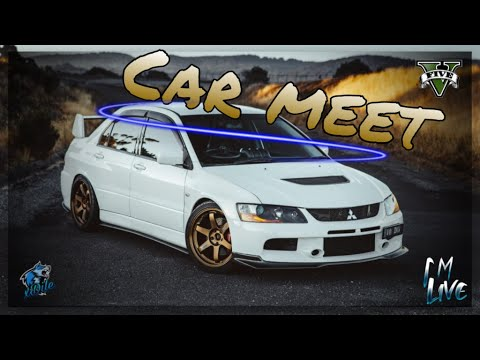 Any Car Meet Gta 5 Online LIVE - [Road To 3.7K Subs] - Check The Description For Join