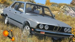 BeamNG.Drive Mod : BMW 535is (Crash test)