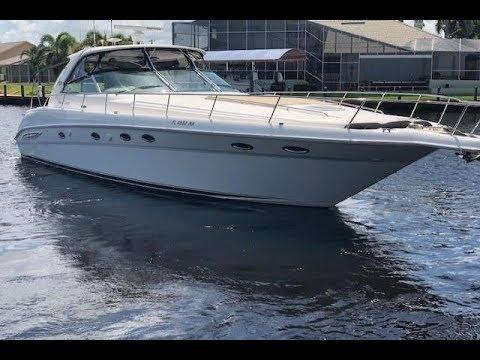 2003 Sea Ray 460 CUSTOM Sundancer Sport Yacht For Sale @ MarineMax Ft.Myers