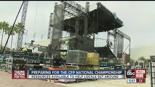 Tampa ready to host National College Football Championship