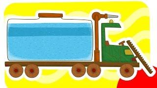 МАШИНКИ - сериал для мальчиков. Поливальная машина. Мультики для детей