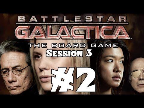 Board Game Night #3: Battlestar Galactica - Part 2