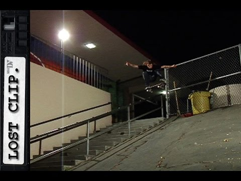 Keegan Sauder Lost & Found Skateboarding Clip #127