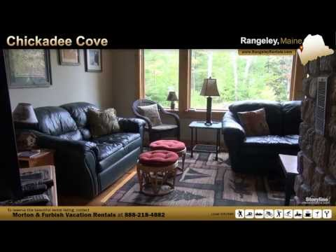 Vacation Rental in Rangeley, ME - Chickadee Cove
