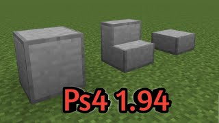 How To Craft Smooth Stone In Minecraft! - Ps4 1.94!