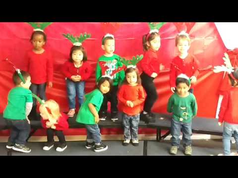 Preschool   Reindeer Hokey Pokey