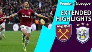 West Ham v. Huddersfield PREMIER LEAGUE EXTENDED HIGHLIGHTS 31619 NBC Sports