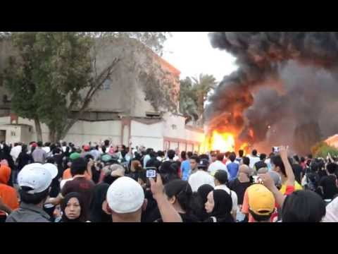 Indonesian consulate jeddah  under fire (15 - 6 - 2013)