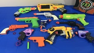 Box of Toys Toy Guns Toy Pistols NERF Guns Toys for Kids