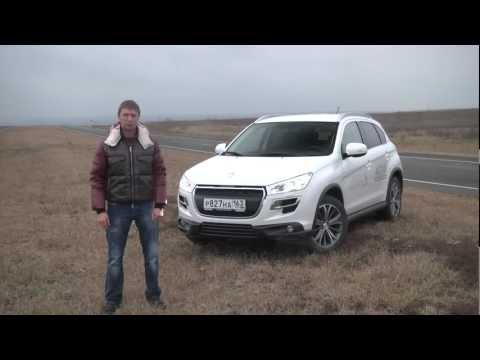 тест Peugeot 4008   www.skorost-tv.ru