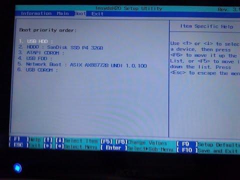 Enter Boot Menu - Lenovo G700