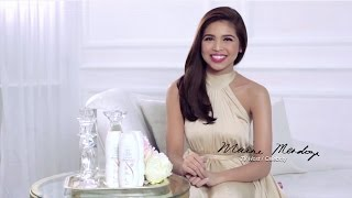 Maine Mendoza for Skin So Soft Advance White with Stem Essence Lotion