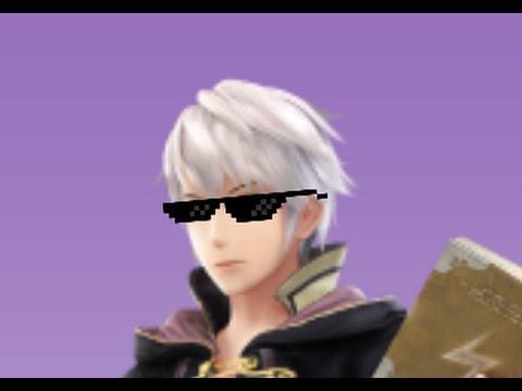 [MLG PARODY] SSB4 Robin and Lucina MLG Blaze it - YouTube