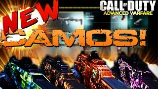 COD AW: NEW Weapon Camos!? | PINK CAMO!? | NEW Camos LEAKED! | NEW Micro DLC? (COD AW Multiplayer)
