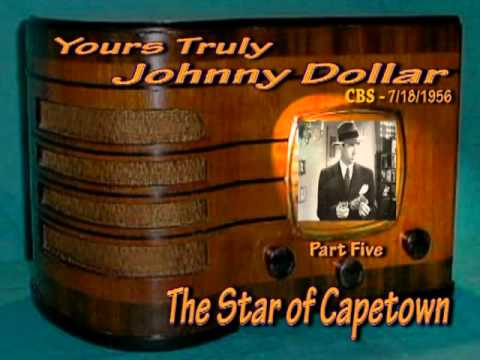 Yours Truly,Johnny Dollar