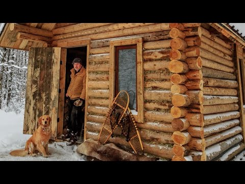 Play Off Grid Log Cabin: Alone with my Dog in an Ice Storm in Mp3, Mp4 and 3GP