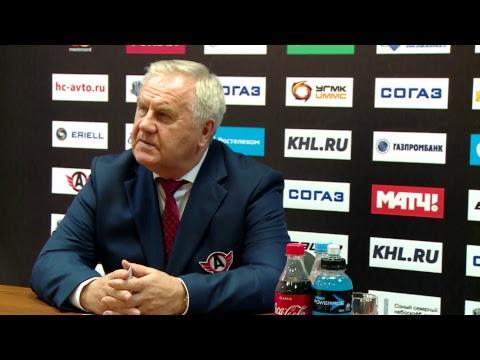 "Пресс-конференция ""Автомобилист"" - ""Куньлунь Ред Стар"""