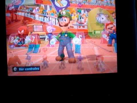 Mario y Sonic en los juegos olimpicos London 2012 Atletismo