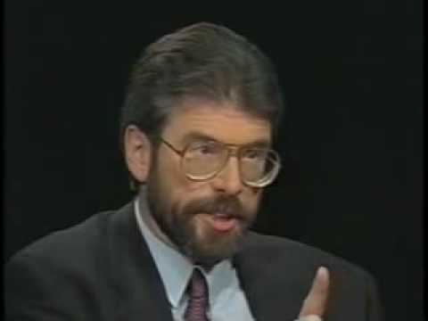 Gerry Adams on Charlie Rose (USA) - 1994 part 1