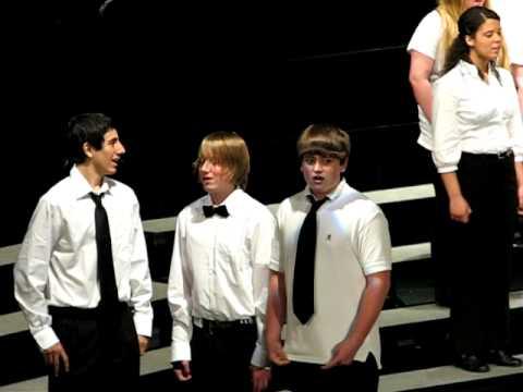 2010-05-20 12 NHSS Spring Concert-Freshmen Choir-Aurora Borealis.AVI