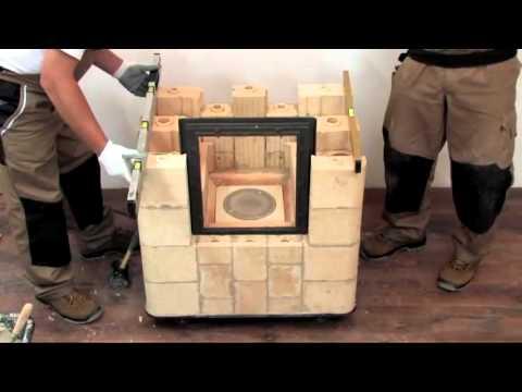Budowa pieca kaflowego krok po kroku