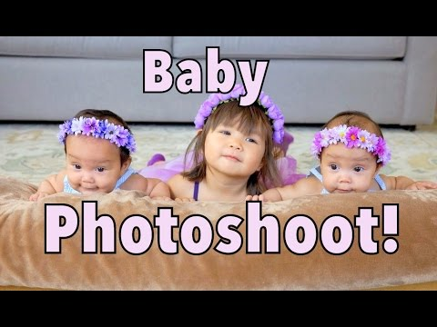 3 MINUTE BABY PHOTO SHOOT! - July 21, 2014 - itsJudysLife Daily Vlog