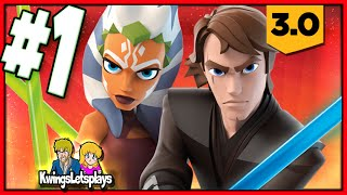 Disney Infinity 3.0 - STAR WARS Part 1 (Assualt on Genosis) Twilight of the Republic Play Set