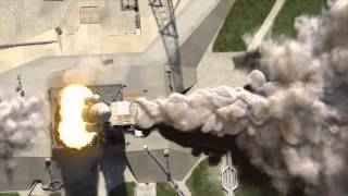 Animation 3D Video Short Film Rocket Space Launch System - NASA