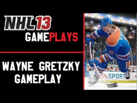 NHL 13 Gameplays: Wayne Gretzky Gameplay [HD]