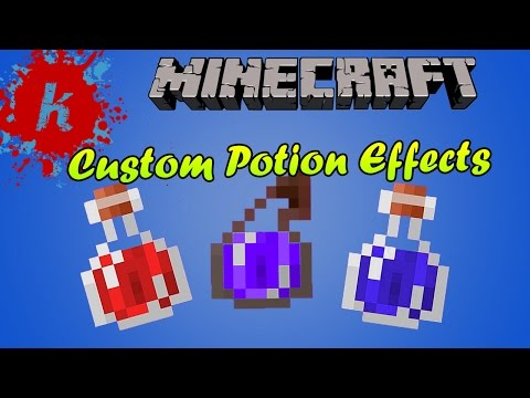 Minecraft | Tutorial - How to get Potions with Custom Potion Effects | [1.7]