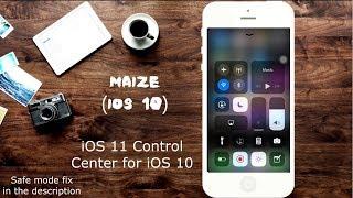 iOS 11 Look & Features on iOS 10 (Tested on iPhone 5 iOS 10.3.3 h3lix jailbreak)