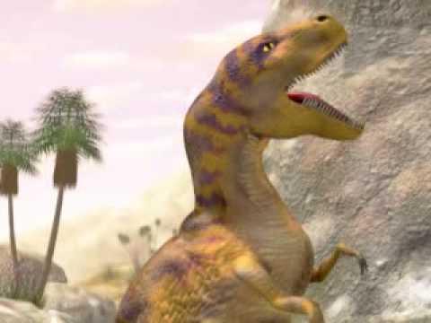 Youtube Tyrannosaurus Azteca Dinoduel 1: Tyrannosau...