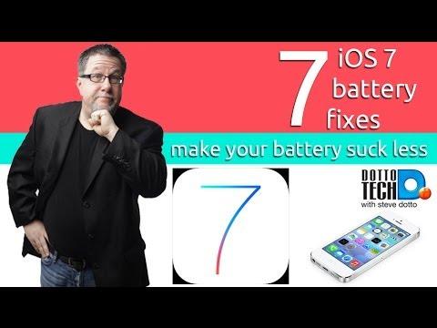 iOS7 Battery Saving Tips: Battling iOS7 Battery Drain Problems