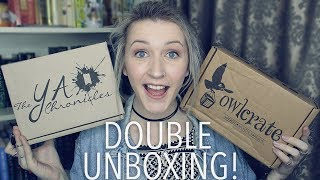 DOUBLE UNBOXING | Owlcrate & The YA Chronicles