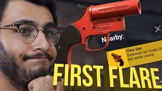 HOW I FOUND MY FIRST FLARE GUN | PUBG MOBILE HIGHLIGHTS