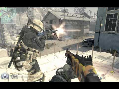 Call of Duty: Modern Warfare 2 Zombie Infection Mod (gameplay/Quarry)