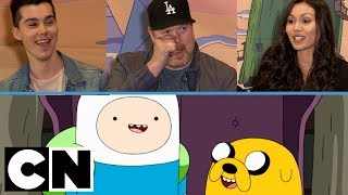 Adventure Time Cast | Season Finale Chat | Cartoon Network