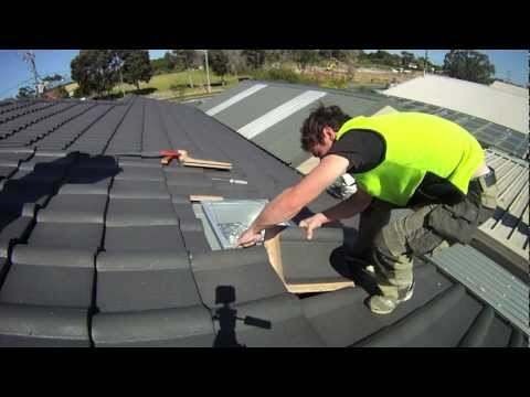 DIY installation ACOL Trade-Lite for tile roof