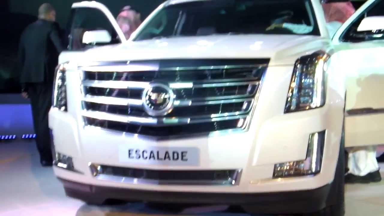Cadillac Escalade 2015 Launch